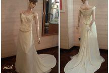Vintage Bignardi / Abiti da sposa vintage. 100% MADE IN ITALY
