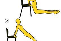 二の腕のエクササイズ / 主に二の腕に効果のあるエクササイズ