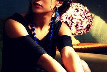 Seance photo Waxebo et J velez Couture. / Quand Waxebo et J. J.Velez couture collaborent le temps d'une séance photo voilà ce que ça donne.. Photographe: Blandine Ravaillac Styliste: J.Velez couture Bijoux: Waxebo Modèle: Mathilde Vilar
