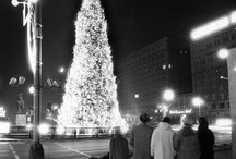Christmas in Chicago / Some things never change throughout history—spreading Christmas cheer has always been a Chicagoan thing to do!