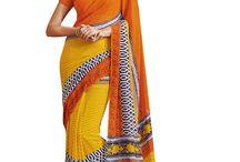 Casual/Daily/Regular Wear Sarees - Fashionfiza.com