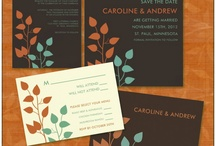 My Wedding Designs / Wedding invitations and other wedding gifts I designed.