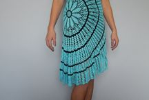 Crocheted dresses / Crocheted dresses by Joanna Fashion