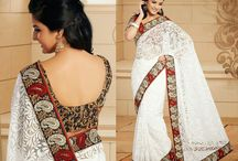 New Designer Sarees / Jugniji.com : A huge sparkling collection of Indian ethnic wear in our attention-grabbing online showroom whose variety is growing every month. ## http://goo.gl/EYyrFS