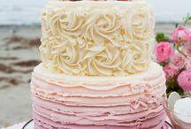 trouwen taart