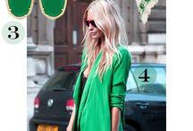 zöld öltözetek tavaszra és nyárra