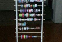 organizador para cintas