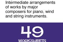 Composers / Composer resources, games, information, worksheets and activities for kids and students.