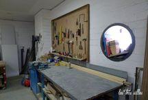 Visita a L`Estoc - Visit to L`Estoc / Tienda-taller de muebles reciclados en Barcelona
