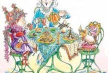 Library - Fancy Nancy party
