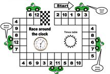 KIDS...School Support - Maths Games / Ideas to help children at school. Games and things to make learning fun.