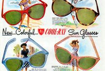 Vintage Posters / Great art to be found on this board...they just don't make them like they used to! These posters are all about eyes and the eyewear that protects them!