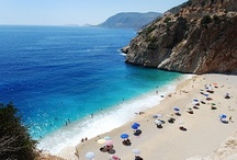 Beaches / Beaches : Great for swimming, sunbathing and relaxing / by Natalie @Turkish Travel Blog