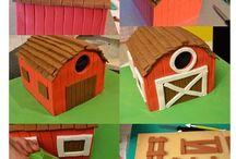 Gâteaux 3D Maison-objets