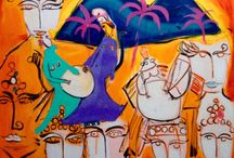 Angelica Pedroso per Livin'art / Ogni tela di Angelica Pedroso richiama un senso di gioia e di espressiva forza interiore