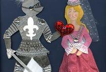 Ridders jonkvrouwen kastelen