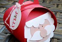 cajas cartón para navidad