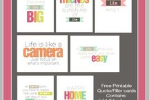 Free Printables / by Jessica James