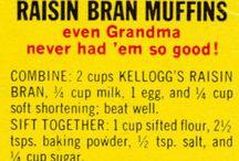 recipes I use