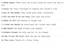 about Taylor Swift
