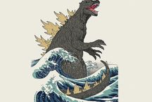 Godzilla and Kaiju Friends / The King of the Monsters and his compatriots!