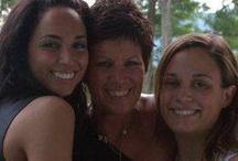 My Spiritually Savvy Daughters / my daughter Kara at a photo shoot in Tribecca