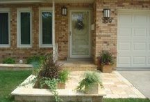 Welcome Home Architecture / Front entrance style / by Lawncare Plus Design~Landscaping Hardscaping Gardening