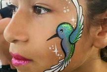 Maquillages oiseaux