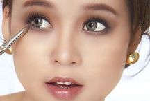 Hướng dẫn trang điểm mắt / Các hướng dẫn cách trang điểm mắt nai, trang điểm mắt khói, trang điểm che quầng thâm mắt...