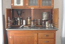 Hoosier cabinet / by Carrie Isola