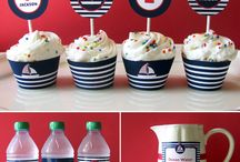 GT's first birthday  / Nautical first birthday