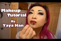 Yaya How-To Videos / Makeup tutorials and how-to videos by Yaya / by Yaya Han