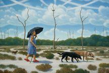 Terry Rowlett / Work of southern artist Terry Rowlett