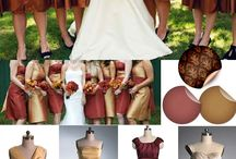 Brown/ Bronze/ Cappuccino/ Sand Weddings / Various Brown Color Palettes
