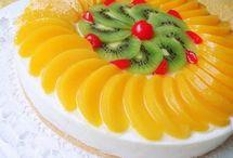 gyümölcs torta