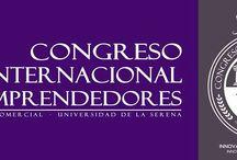 www.congresodeemprendedores.cl / Congreso Internacional de Emprendedores realizado por los estudiantes de la Universidad de La Serena.  Síguenos en @CongresoULS