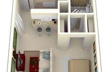 Apartamentos pequeños