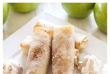 dessert, apple pie