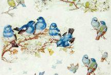 Birds Decoupage