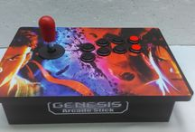 Genesis Arcade Stick