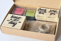 Biterswit DIY Rubber stamps set / Enjoy the DIY experience with these rubber stamp kits. A perfect gifts for creative minds.