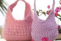 Hæklet tasker