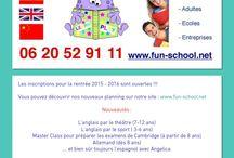 FUN School Montauban ATELIERS D'ANGLAIS