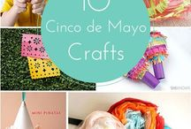 *Kid Friendly - Cinco De Mayo Party Ideas / Mexican crafts, food, fun food ideas for treats, and party game ideas!