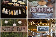Food bar wedding