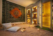 Relax Club Namaste / Relaxační club Namaste v Brně, Česká republika. Himalaya sauna, tantra masaže, relaxace na solné pláži, diskrétní prostory