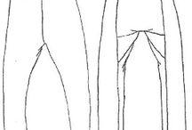 Viking klær mønster