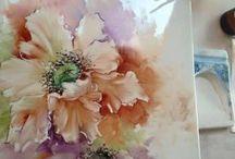 Cuadros d flores
