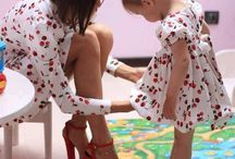 Mommy/Daughter Matching Style / by Natalie Asato