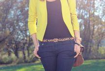 blazer amarelo
